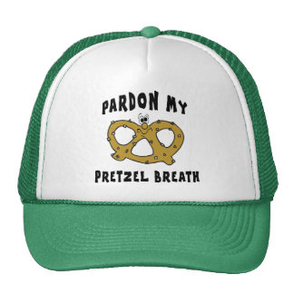 Pardon My Pretzel Breath Gift Cap