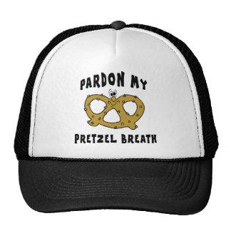 Pardon My Pretzel Breath Gift Mesh Hats
