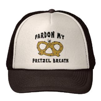 Pardon My Pretzel Breath Trucker Hats