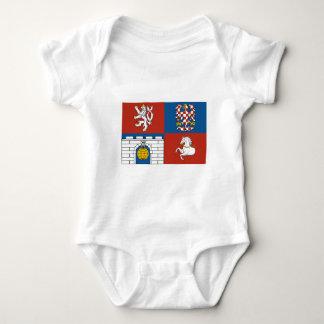 Pardubice Flag Baby Bodysuit
