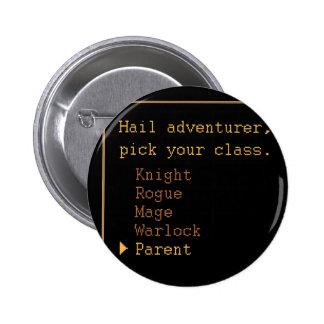 Parent Adventurer 6 Cm Round Badge