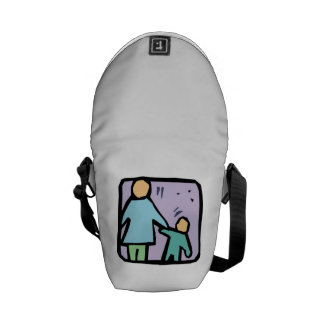 Parent and Child Courier Bags