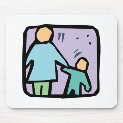 Parent and Child Mouse Pad