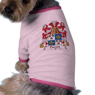 Parent Family Crest Pet Clothes