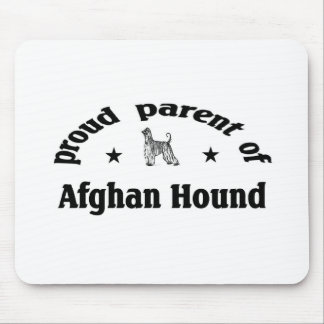 Parent of afghan Hound Mouse Pad