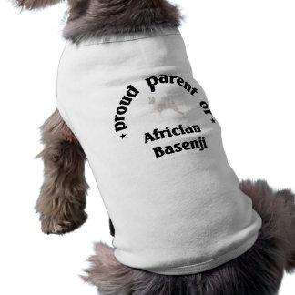 Parent of an Africian Basenji Dog Pet T-shirt