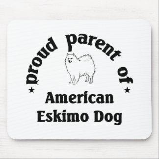 Parent of an Eskimo Dog Mousepad