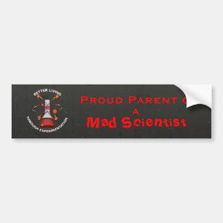 Parent of Mad Scientist Bumper Sticker