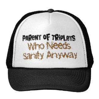 Parent of TRIPLETS Mesh Hats