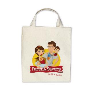 Parent Savers Organic Grocery Bag