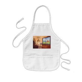 Parental control kids apron