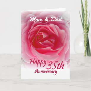 parents 35th anniversary gifts gift ideas zazzle uk