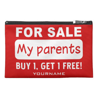 PARENTS FOR SALE custom accessory bags