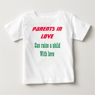 Parents in love baby t-shirts