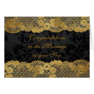 Parents of Bride Congratulations Greetings Card