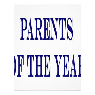 Parents Of The Year Custom Flyer