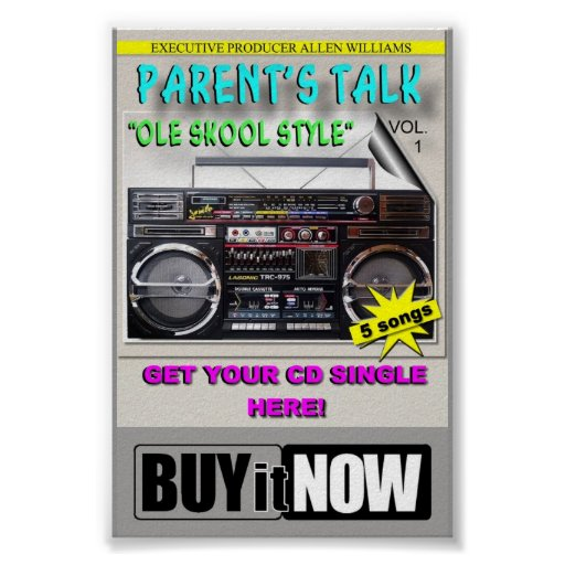 PARENT'S TALK PROJECT COUNTER CARD (BUY IT NOW) PRINT