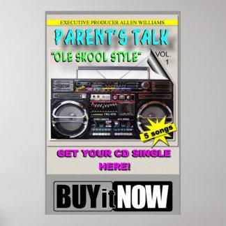 PARENT'S TALK PROJECT POSTER ( GET A LIFE)