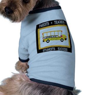 Parents + Teachers Student Success Black Dog Clothes