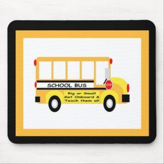 Parents + Teachers = Student Success (Black) Mousepad