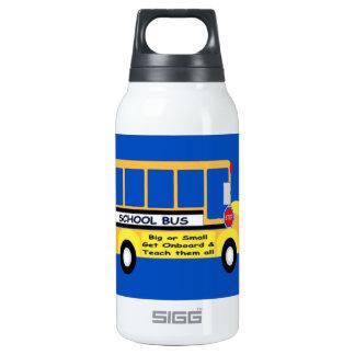 Parents + Teachers = Student Success Insulated Water Bottle