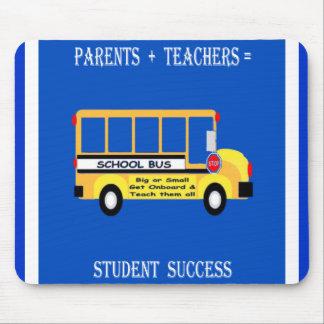 Parents + Teachers Student Success Mouse Pads