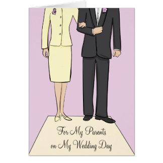Parents Wedding Thank You Card