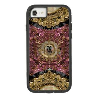 Parfaita Regal VII Unique Elegant Monogram Case-Mate Tough Extreme iPhone 8/7 Case