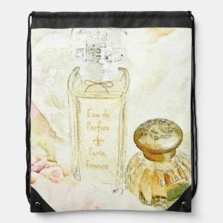 Parfum Toiletries Drawstring Backpack