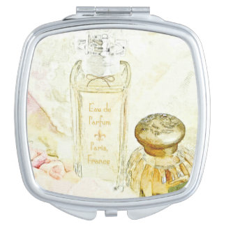 Parfum Toiletries Mirror For Makeup