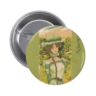 Parfums by Raphael Kirchner 6 Cm Round Badge