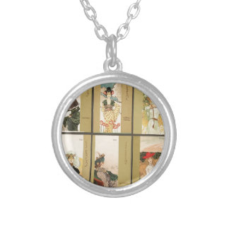Parfums by Raphael Kirchner Round Pendant Necklace