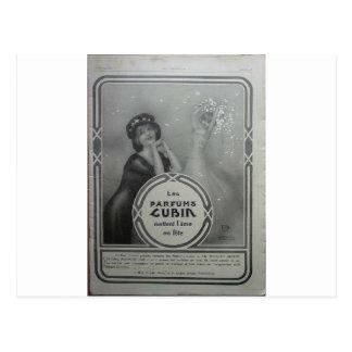 Parfums Cubin by Raphael Kirchner Postcard