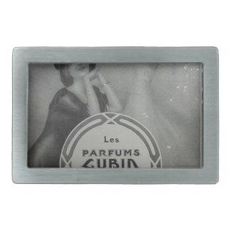 Parfums Cubin by Raphael Kirchner Rectangular Belt Buckle