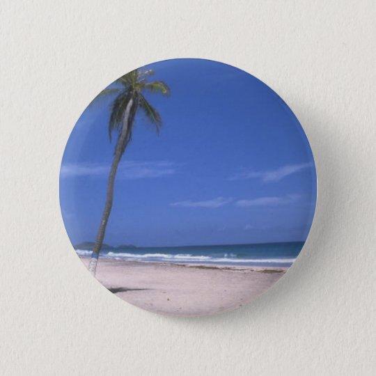 paridice at the beach 6 cm round badge