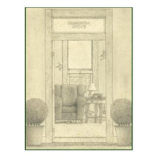 Parinoia Suite Post Card