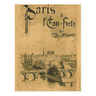 Paris 1900 Exhibition Postcard