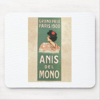Paris 1900 Flamenco dancer French Mouse Pad