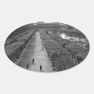 Paris 1920 oval sticker