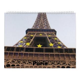 Paris 2014 wall calendar