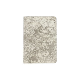 Paris 5 passport holder