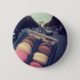Paris 6 Cm Round Badge