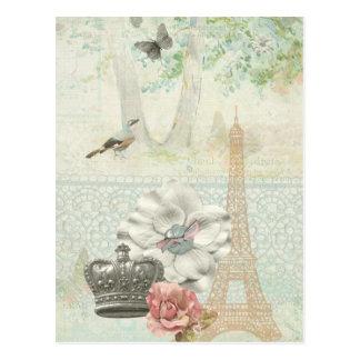 Paris a la Impressionism Post Card