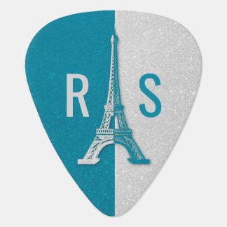 Paris | Adorable Glitter Eiffel Tower Guitar Pick