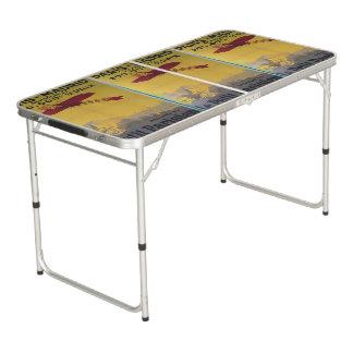 PARIS AEROPLANES BEER PONG TABLE