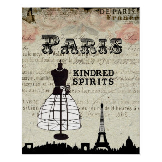 Paris and I Poster