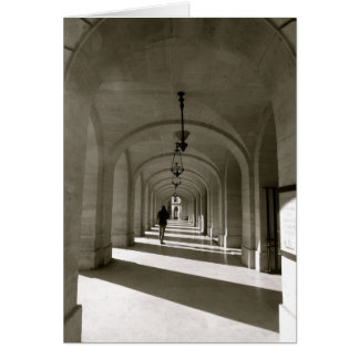 Paris arches St Germain Card