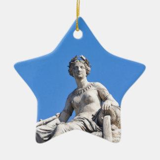 Paris architecture christmas ornament