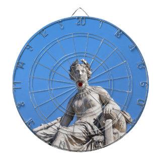 Paris architecture dartboard