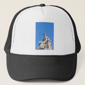 Paris architecture trucker hat